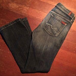 7FAM sz29 Medium Wash Jeans